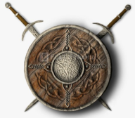 Celtic shield & sword